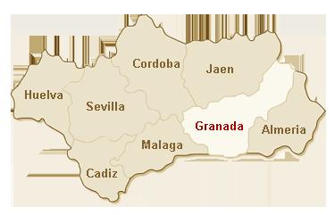 kaart Granada