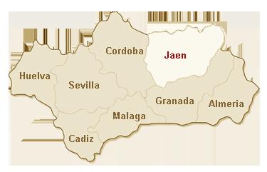kaart Jaen