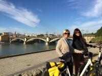 fietstocht Sevilla