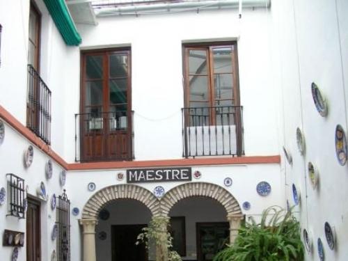 Cordoba: patio hotel