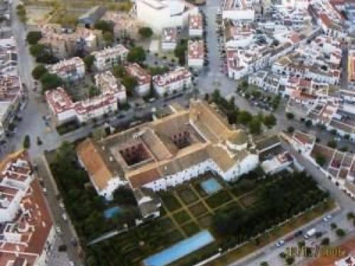 Palma de rio: klooster